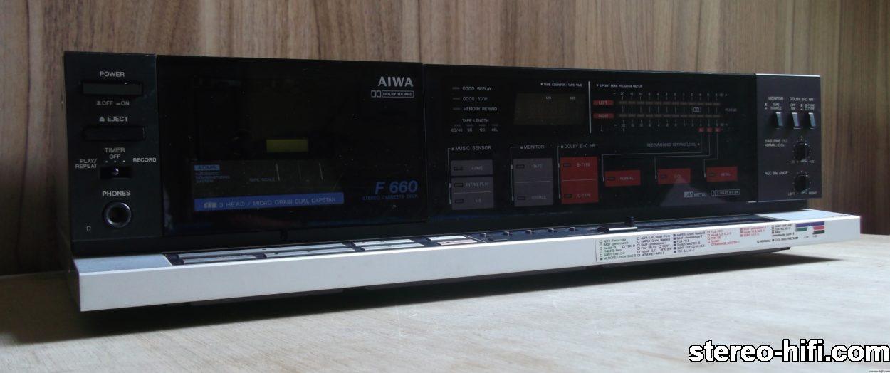 Aiwa AD-F660 front