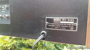 %name National Panasonic RS 840S