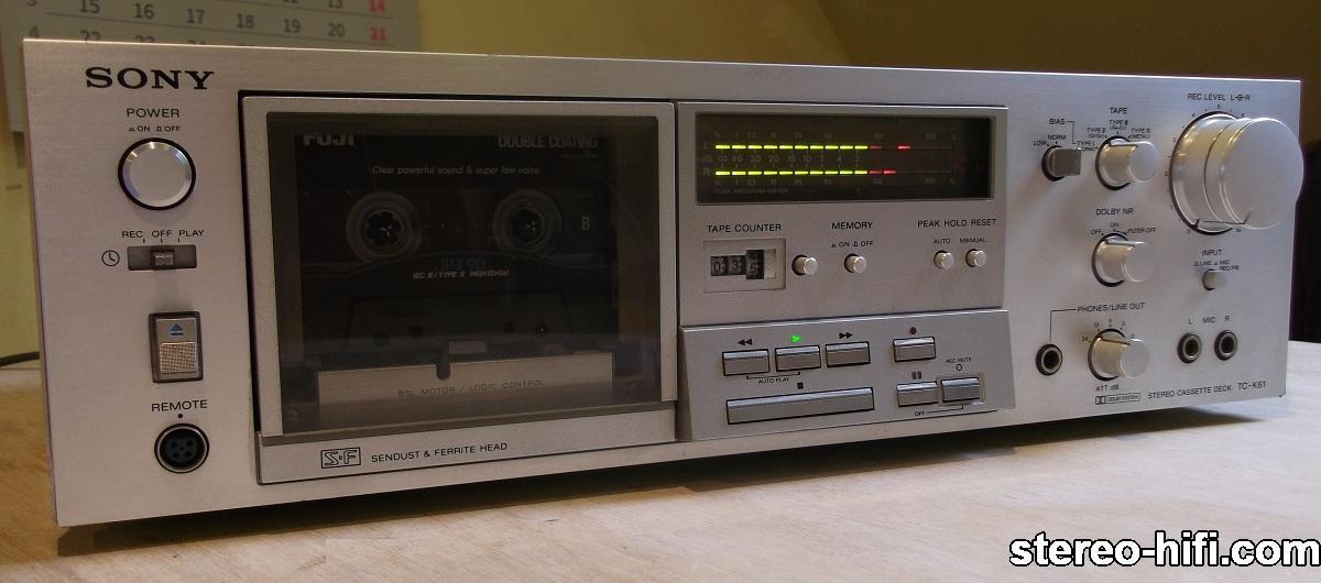 Sony TC-K61 front