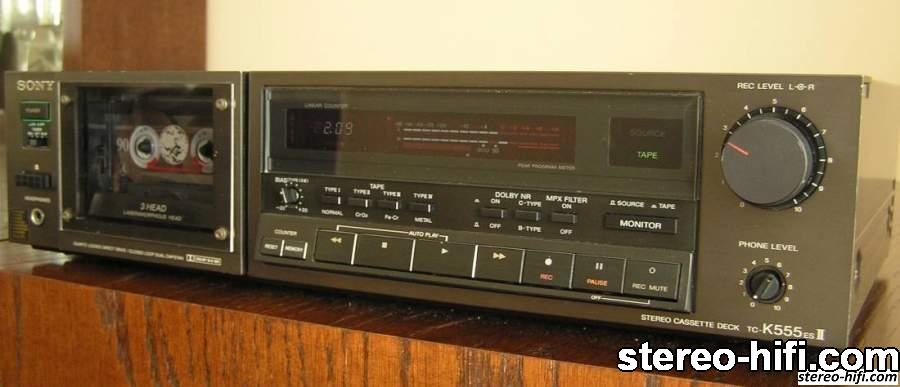 Sony TC-K555ES Mk II front