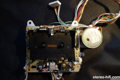 Beocord 9000 mechanizm-widok od strony głowic