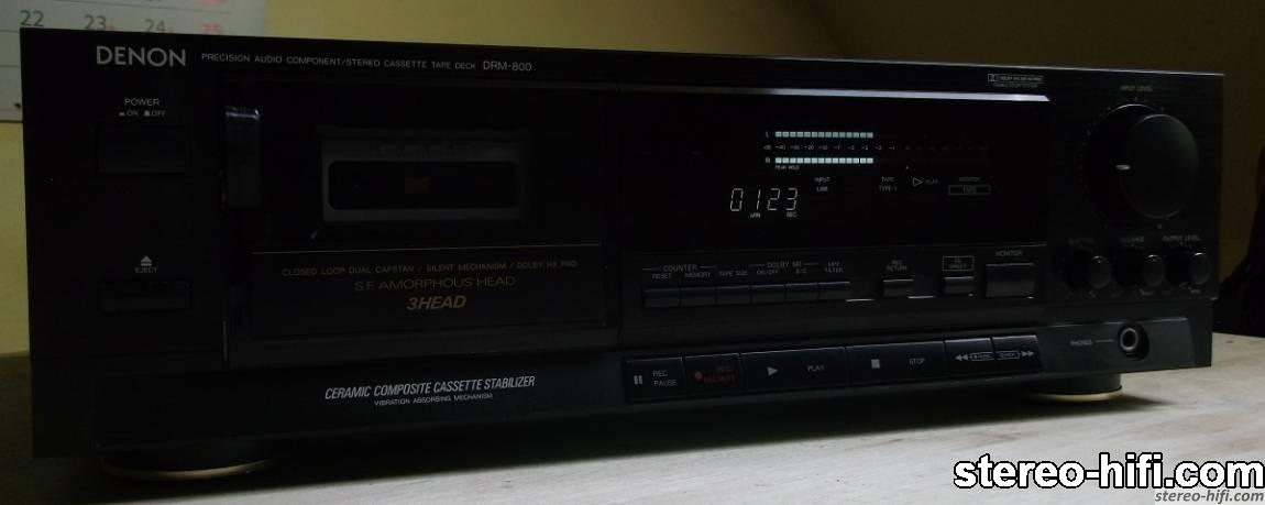 DRM-800 black front