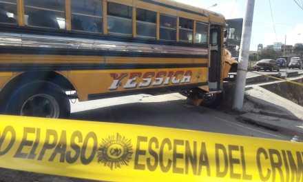 Muere piloto de bus de la Ruta 11
