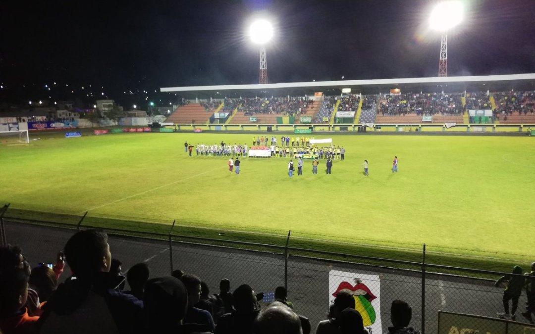 Xinabajul con ventaja en la final de la Segunda División en Guatemala