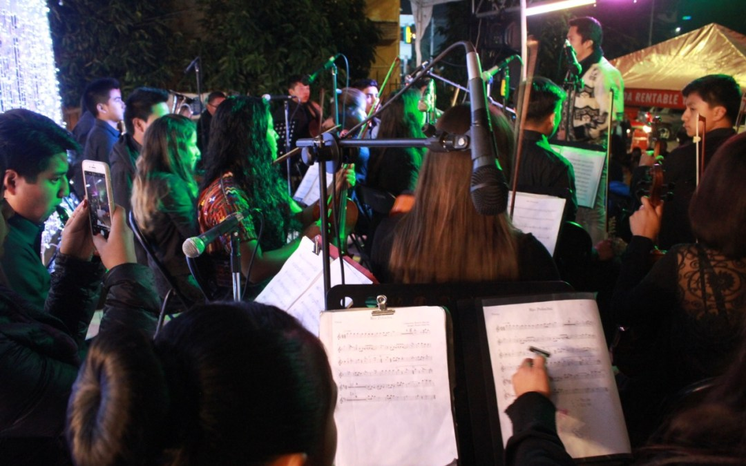 Concierto de la Orquesta Sinfónica Juvenil en Sololá