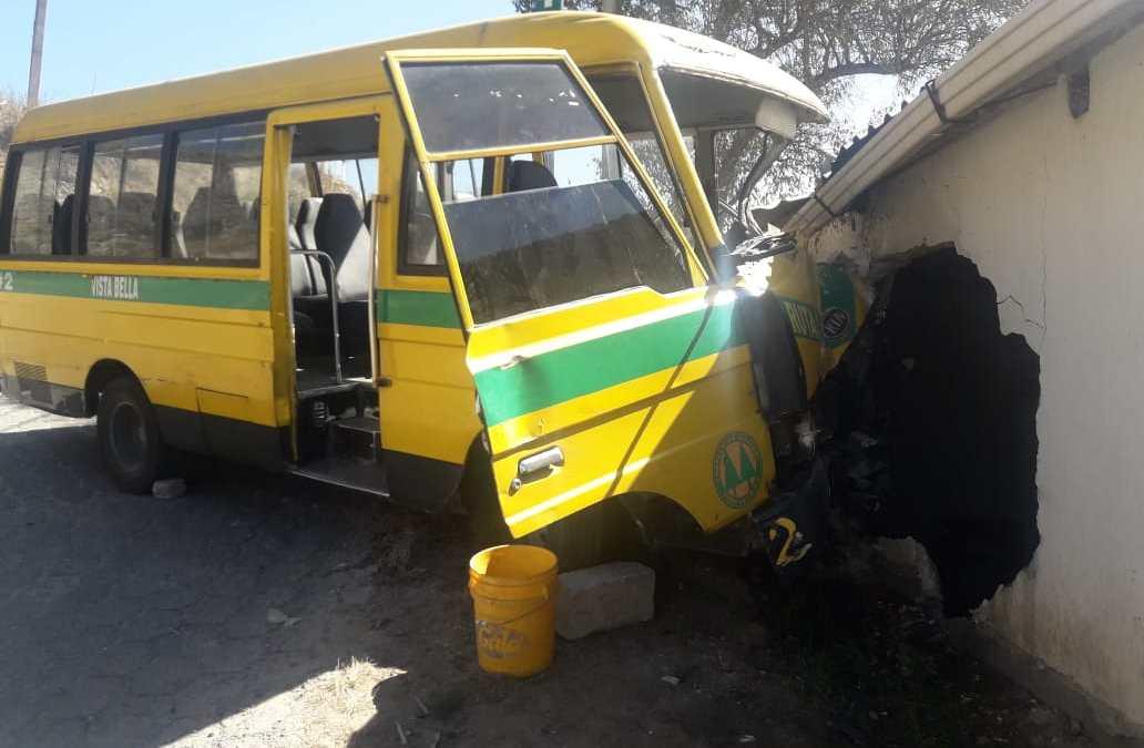 Heridos en accidente de bus ya salieron del HRO