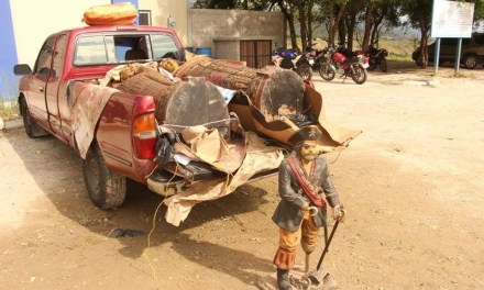 Capturados transportaban piezas arqueológicas