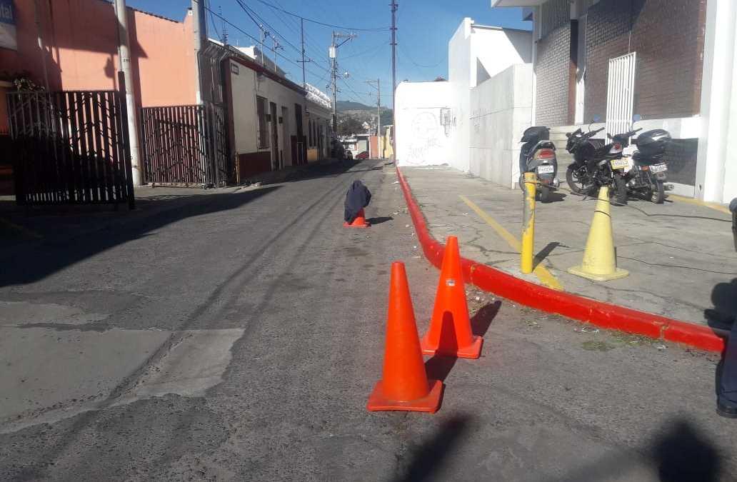 Señalizan lugares prohibidos para estacionarse