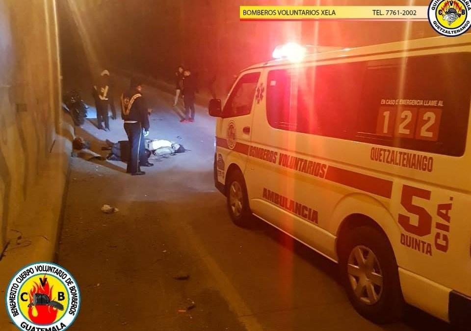 Motorista pierde la vida en el paso a desnivel de avenida Las Américas