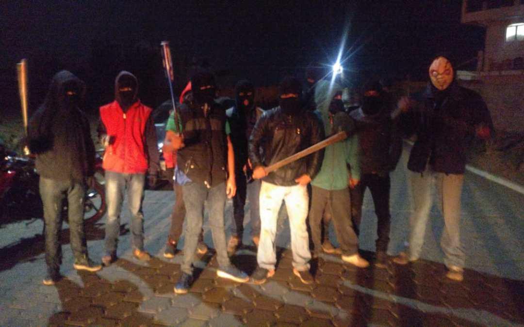 Vecinos de La Esperanza se unen para frenar delincuencia
