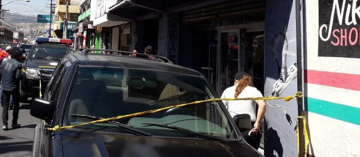 Delincuentes, a bordo de motocicleta, disparan en la zona 3 de Xela