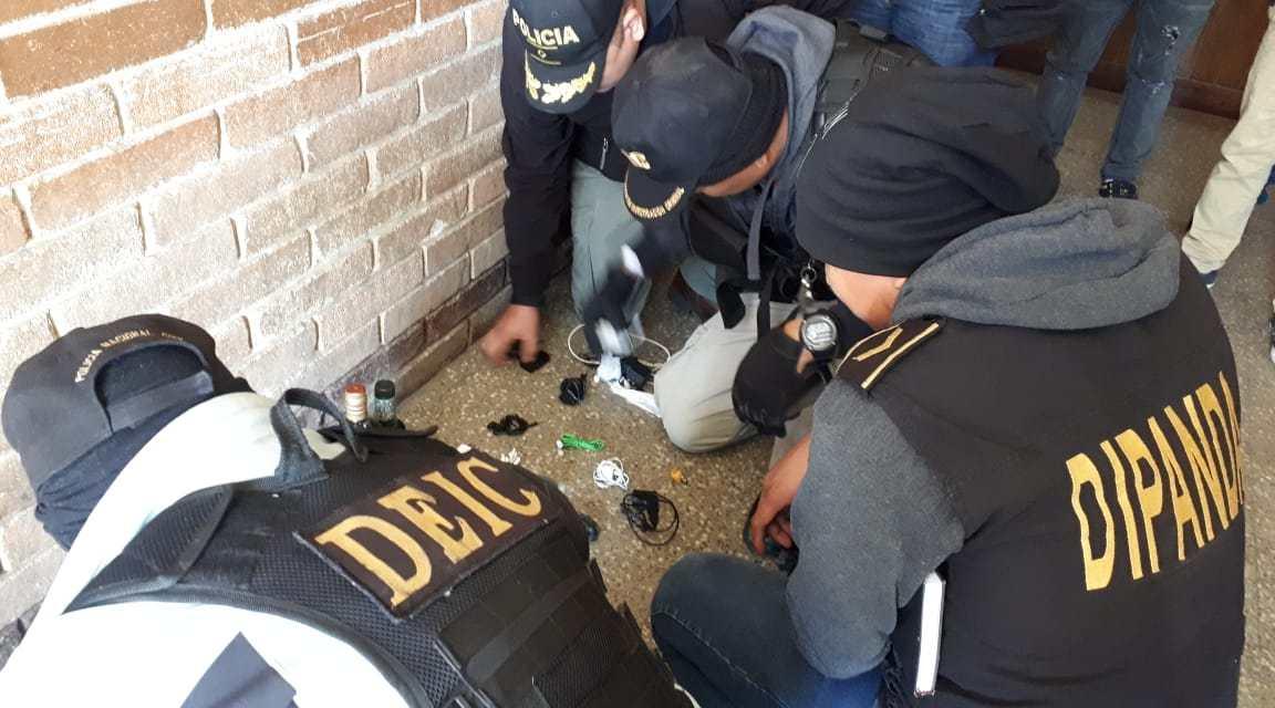 Encuentran listas de números telefónicos, drogas y celulares en la Granja Penal Cantel