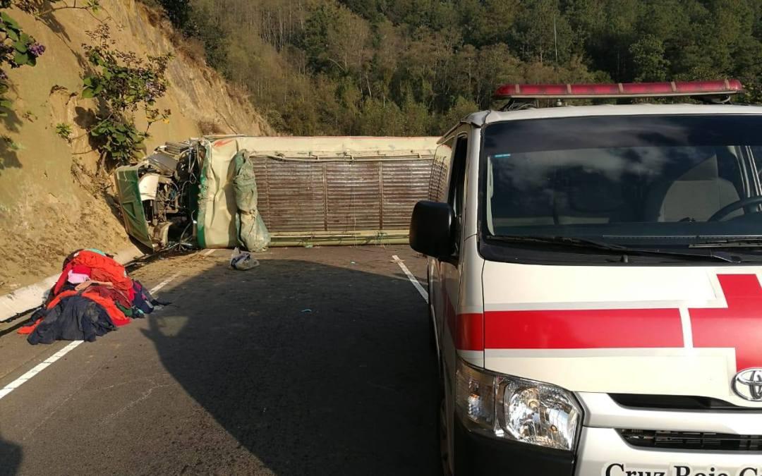 13 personas heridas tras accidente en la ruta CA-1