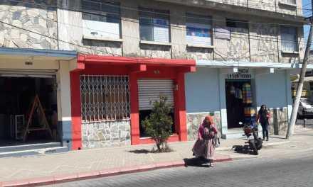 Negocio saqueado en Xela fue inaugurado hace una semana