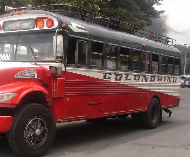 Así es la manera de asaltar en buses