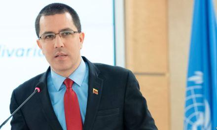 Arreaza dice que Maduro y Trump deberían reunirse para encontrar «terreno común»