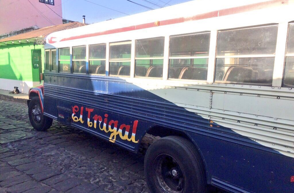 Seguidor relata un viaje de terror en bus urbano de Xela
