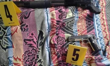 Capturan a mujer quien portaba armas