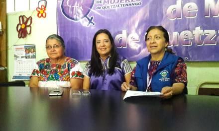 ¿Cuál es el lema este año en Xela por el Día Internacional de la Mujer?