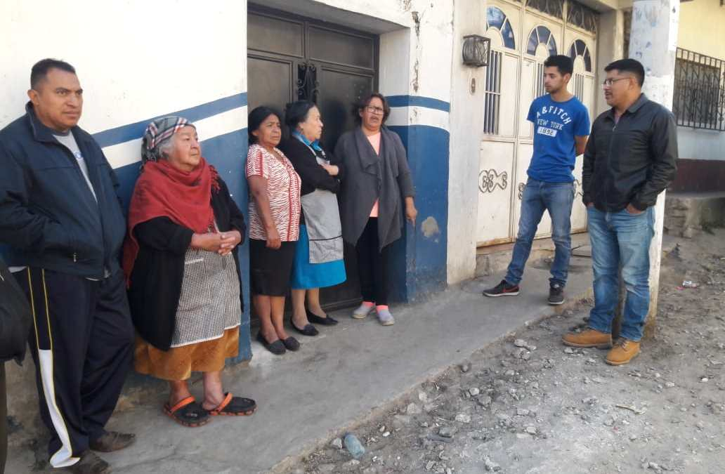 Sin agua potable en la salida a Almolonga