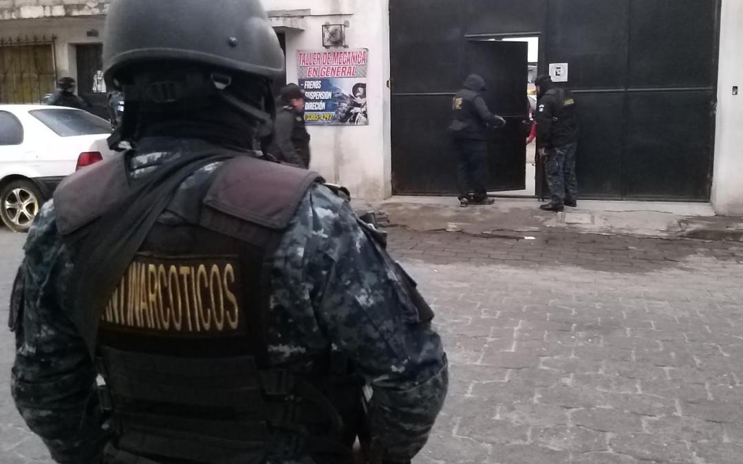 ¿Quiénes son los capturados en operativo contra el narcotráfico?