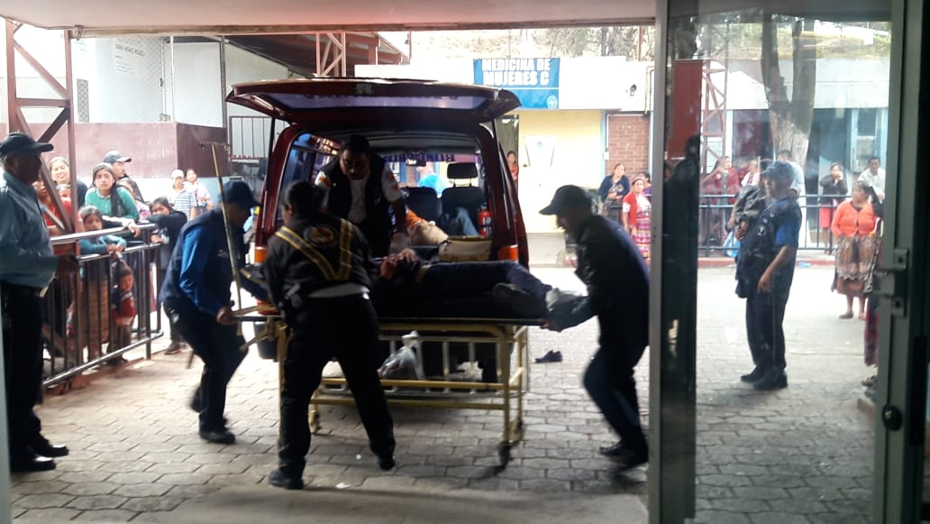 Niño queda a espera de familiares en el HRO, tras accidente de tránsito
