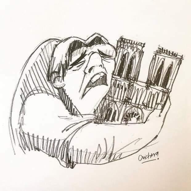 Complicaciones para controlar el incendio en catedral de Notre Dame