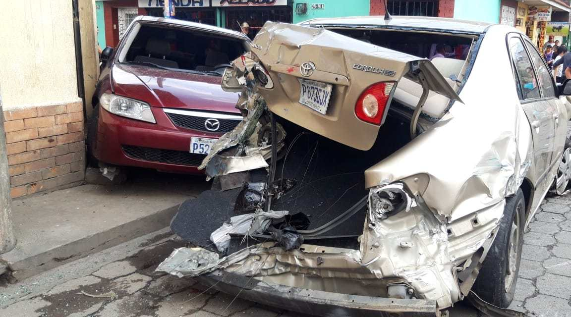 PNC captura a piloto de bus que causa accidente