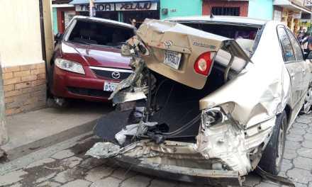 PNC captura a piloto de bus que causa accidente