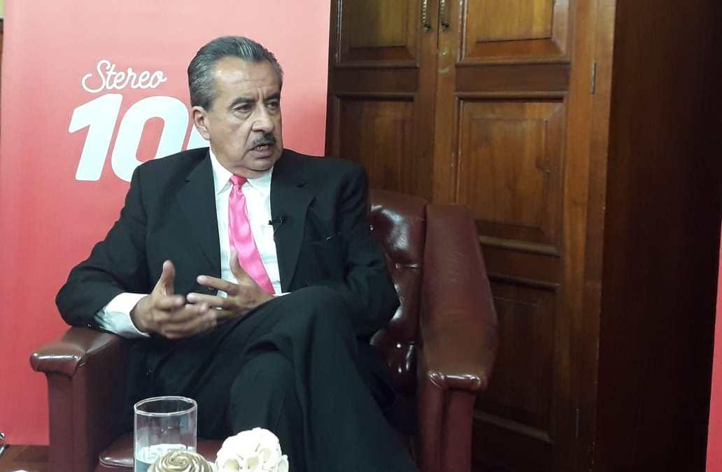 Labrenti Cabrera, candidato a alcalde de Xela, por el partido AVANZA, en #YoDecido100