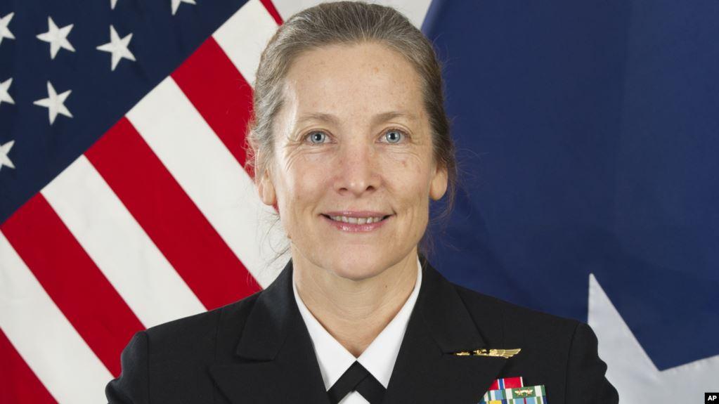 Una mujer liderará por primera vez el Colegio Naval de Guerra de EE.UU.