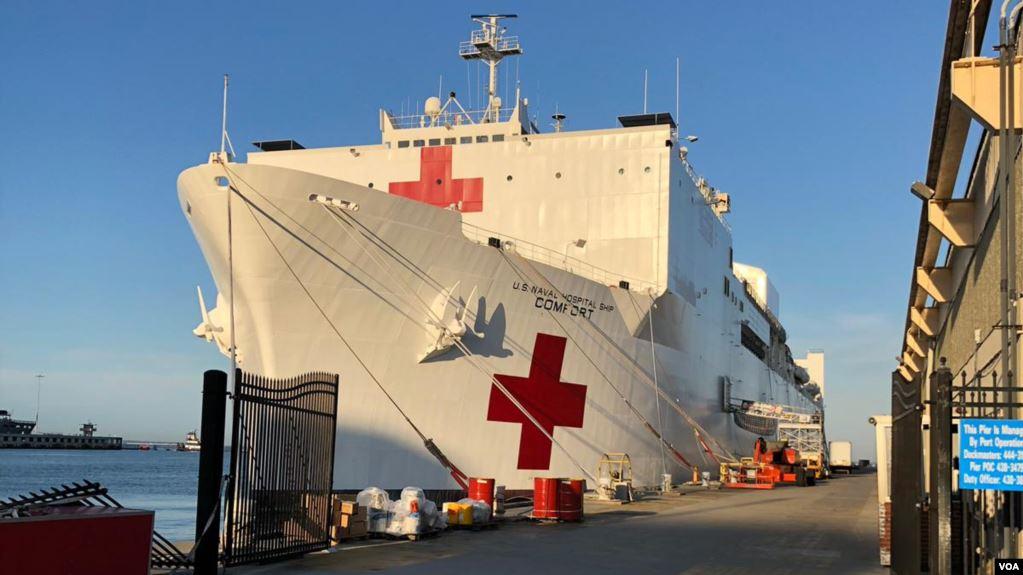 Buque hospital de EE.UU. viaja a 11 países de la región impactados por la crisis en Venezuela