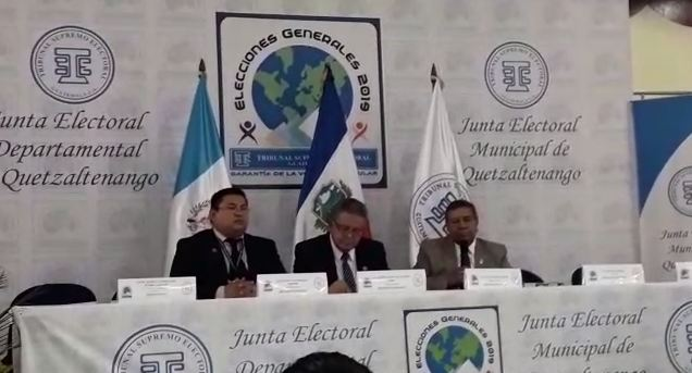 ((En directo)) Hasta las 15 horas un 32.04% por ciento había votado en Quetzaltenango