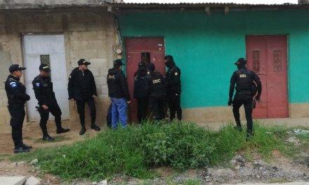 PNC informa de capturas en operativo contra extorsiones