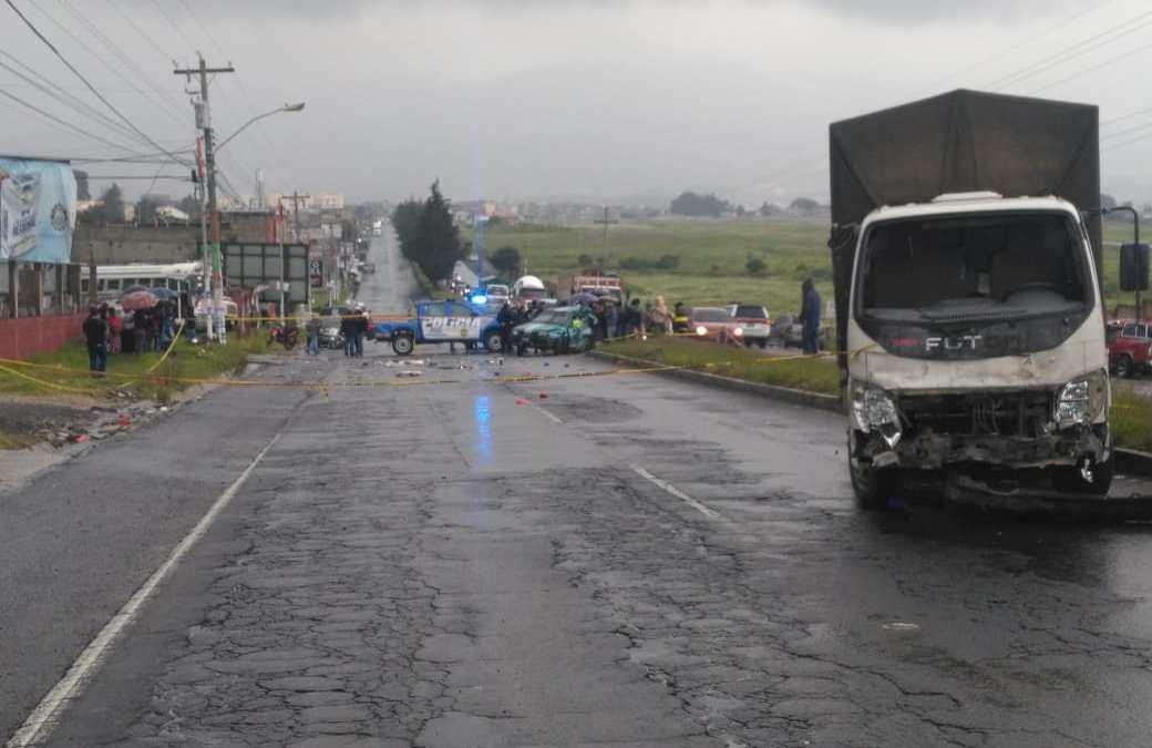 Identifican a fallecidos en accidente ocurrido en autopista Los Altos