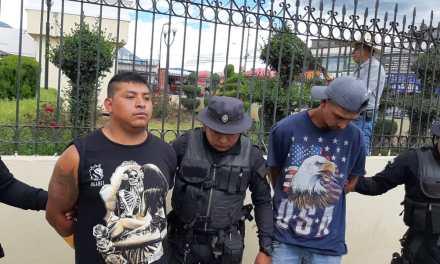 PNC captura a presuntos sicarios en la zona 7 de Xela
