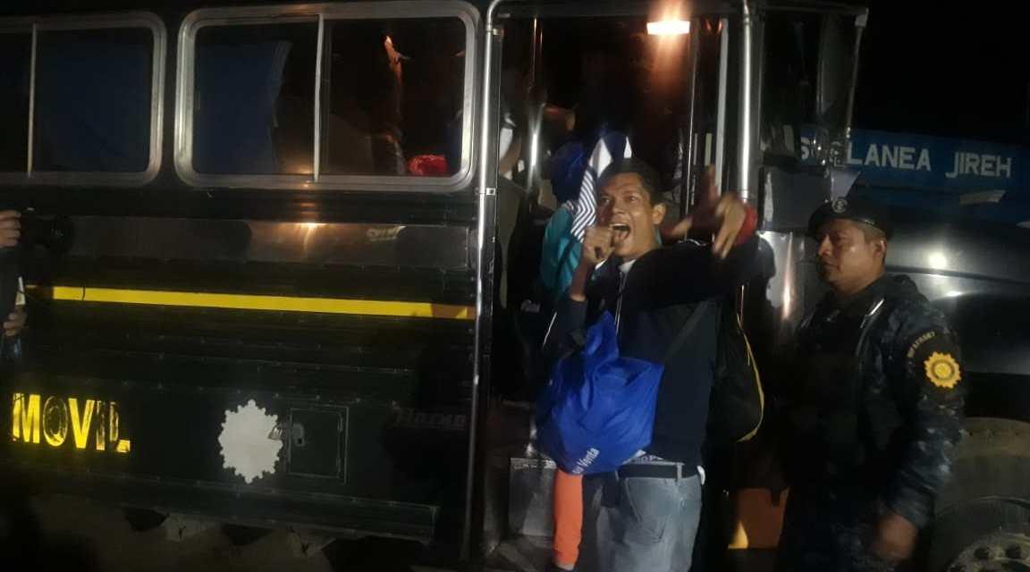 33 migrantes fueron interceptados por PNC