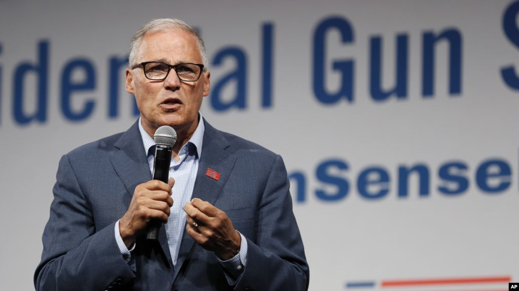 Gobernador de Washington Jay Inslee termina su candidatura presidencial para 2020