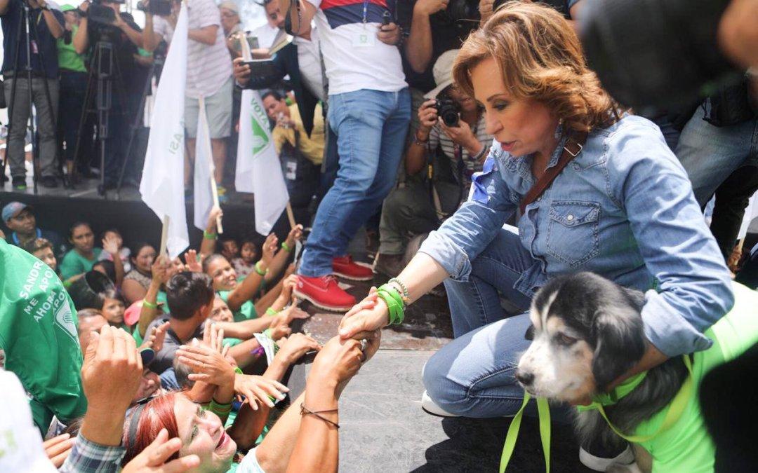 Sandra Torres: Yo estoy tranquila en mi casa