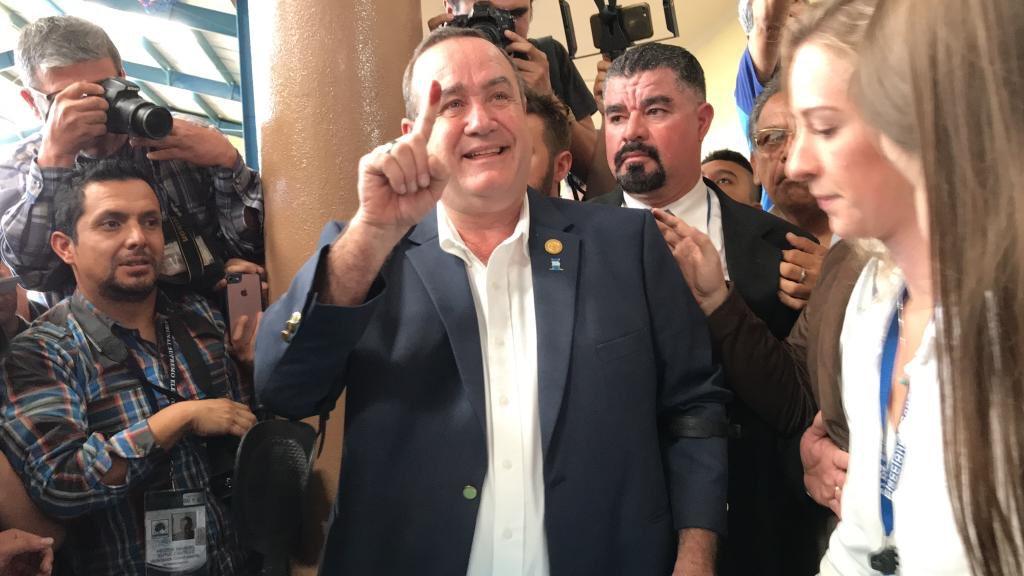 Página del TSE confirma que Giammattei es el presidente electo de Guatemala