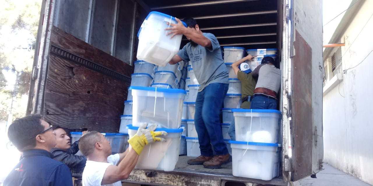 Inicia distribución de insumos para la Segunda Vuelta Electoral