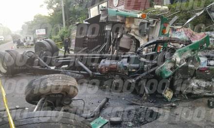 Fatal accidente protagonizado por bus