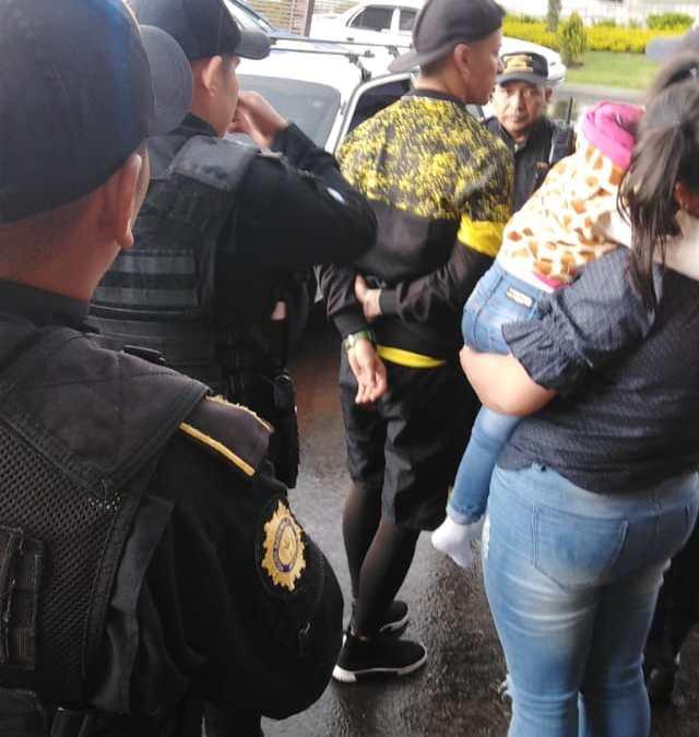 Capturan en Quetzaltenango a jugador de Marquense