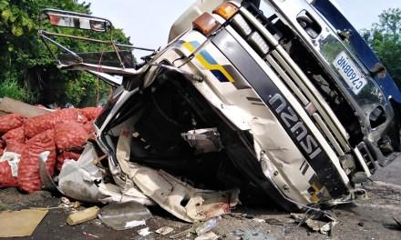 Originario de Almolonga muere en accidente de tránsito en El Salvador