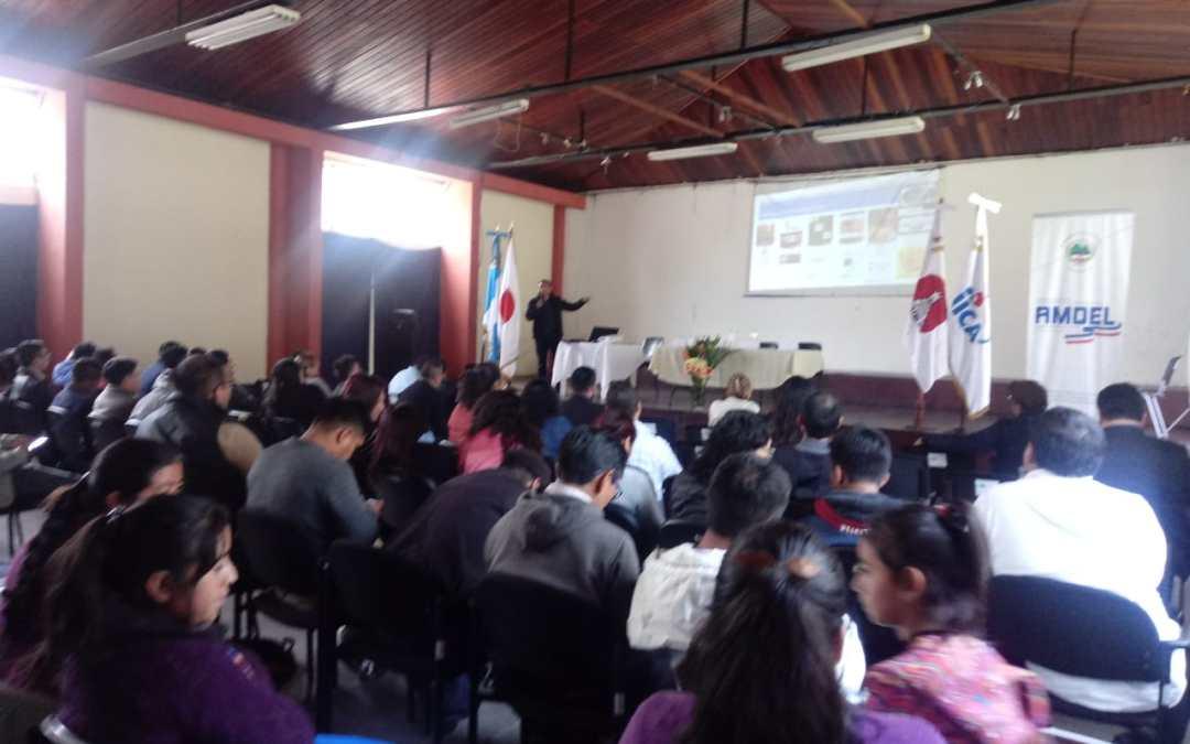 Realizan acercamiento con empresarios de Quetzaltenango