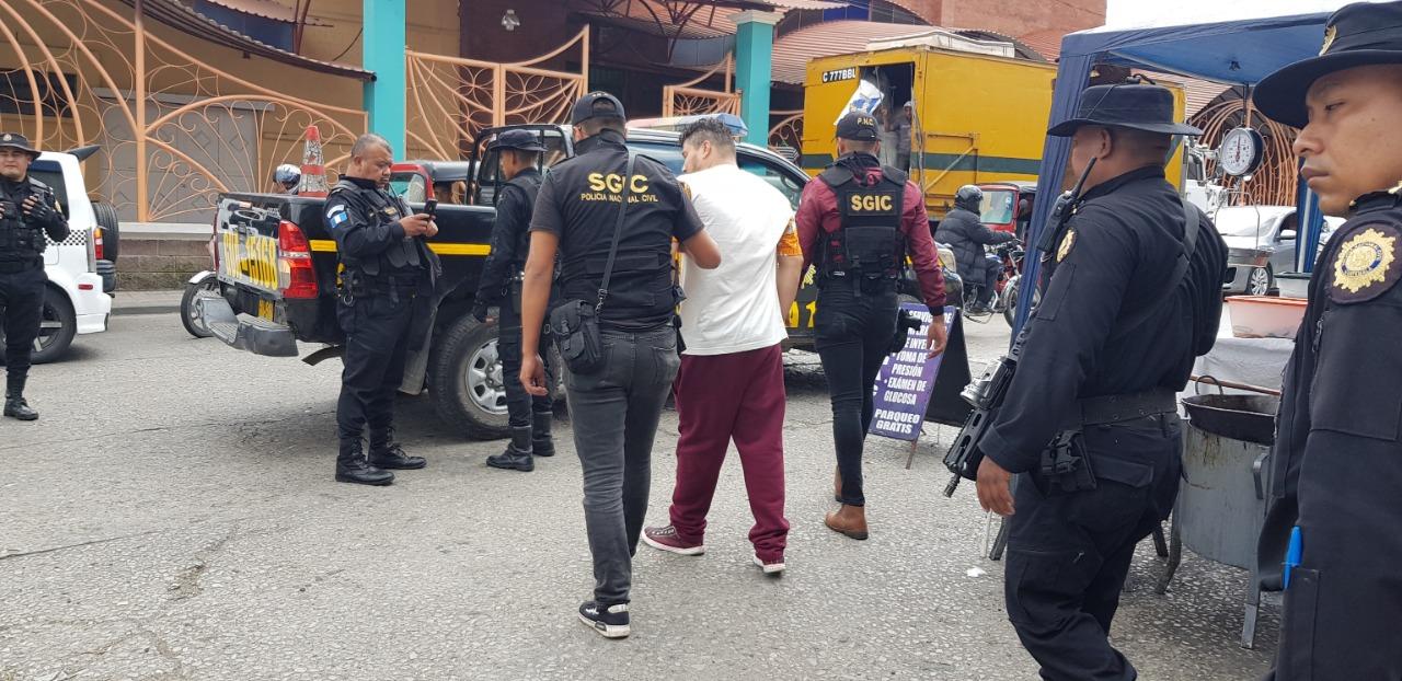 Capturados en 19 allanamientos realizados contra extorsionistas