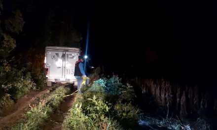 Lo que se conoce del cadáver encontrado calcinado ayer en San Martín Sacatepéquez