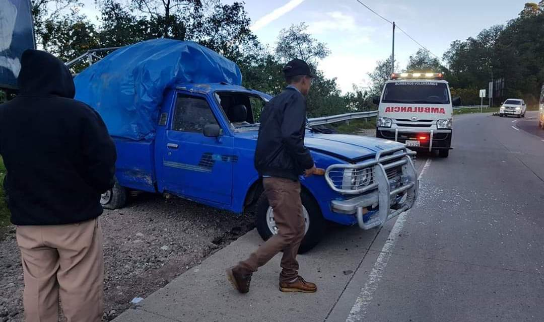 Continúan accidentes en la ruta Interamericana