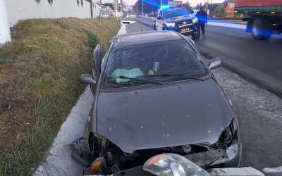 Una mujer muerta y tres heridos en percance vial en ingreso a Xela