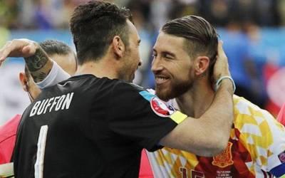 Sergio Ramos igualó a Buffon con partidos disputados con su selección